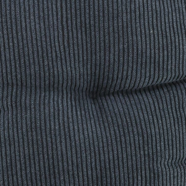 刺繍コーデュロイ 脚入れクッション  NV 35×37