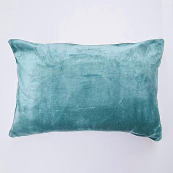 ベルベット 枕カバー 43cm×63cm BLGR VET-PLO