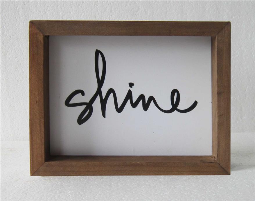 FX111  Shine ウッドフレーム  23×18