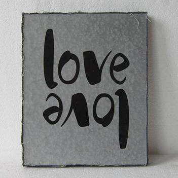 FX092 love METAL ART 28cm×35cm