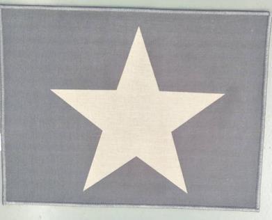シュテルン 玄関マット  GY  45×60