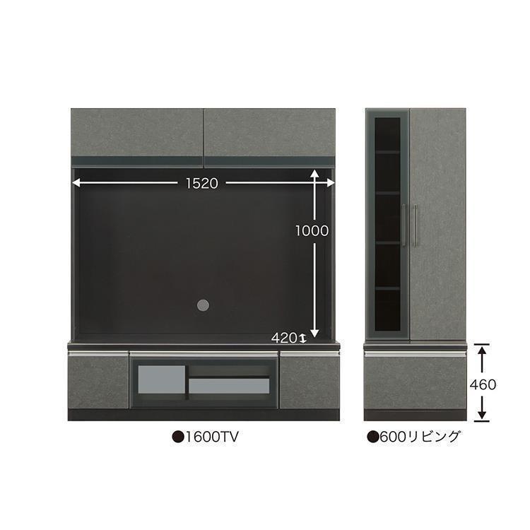 エスタード ミドルボード  1600TV+600