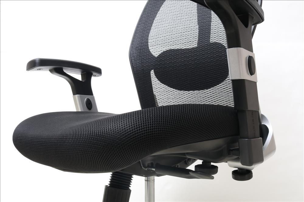 【WEB限定】CX0266H01  メッシュオフィスチェア BK