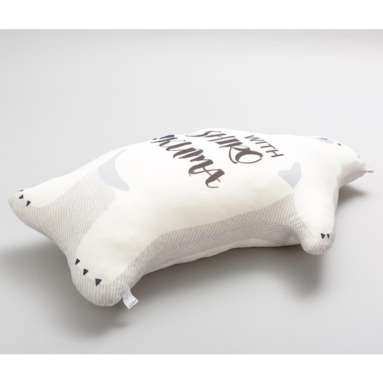 ひんやりシロクマくん 抱き枕 110cm グレー HSZ-SPL110