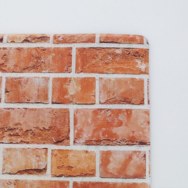 ふかふか撥水トイレマット  45×60  レンガ