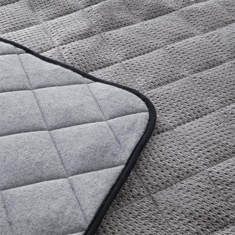 こたつ掛敷布団セット カチオンミックス 長方形 150cm幅こたつ用 GY