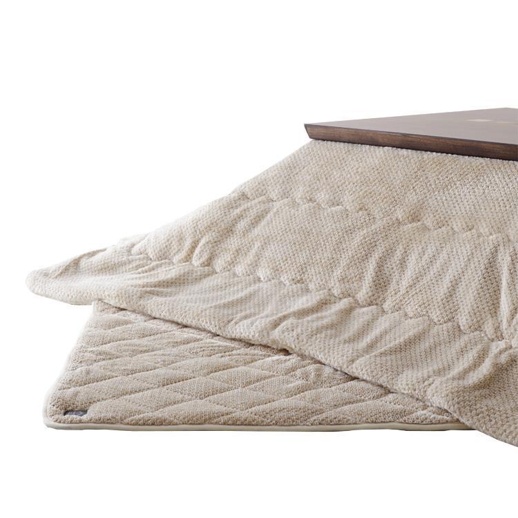 こたつ掛敷布団セット カチオンミックス 長方形 150cm幅こたつ用 BE