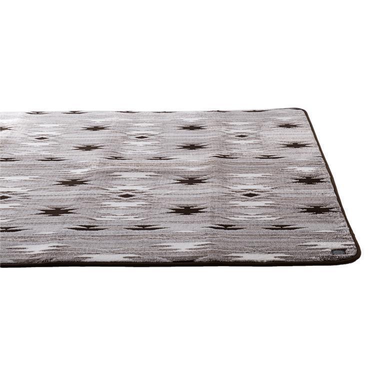 モコモコキリム ラグ  185×185  BR