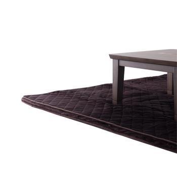 こたつ敷布団 フランネル極厚 正方形 190cm×190cm BR