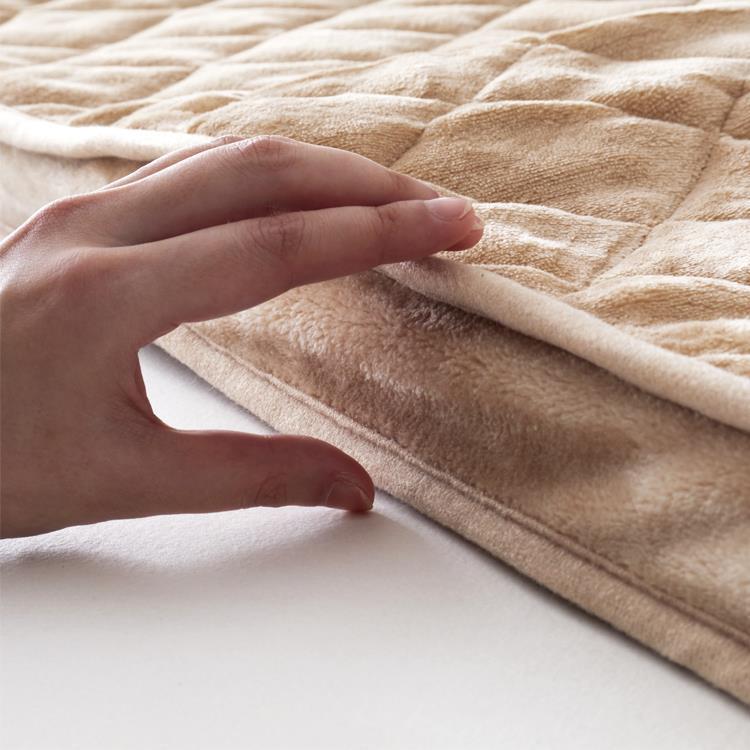 こたつ敷布団 フランネル極厚 長方形 190cm×240cm BE