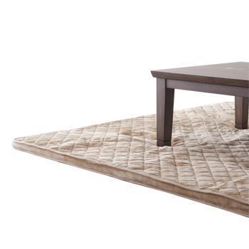 こたつ敷布団 フランネル極厚 長方形 190cm×290cm BE