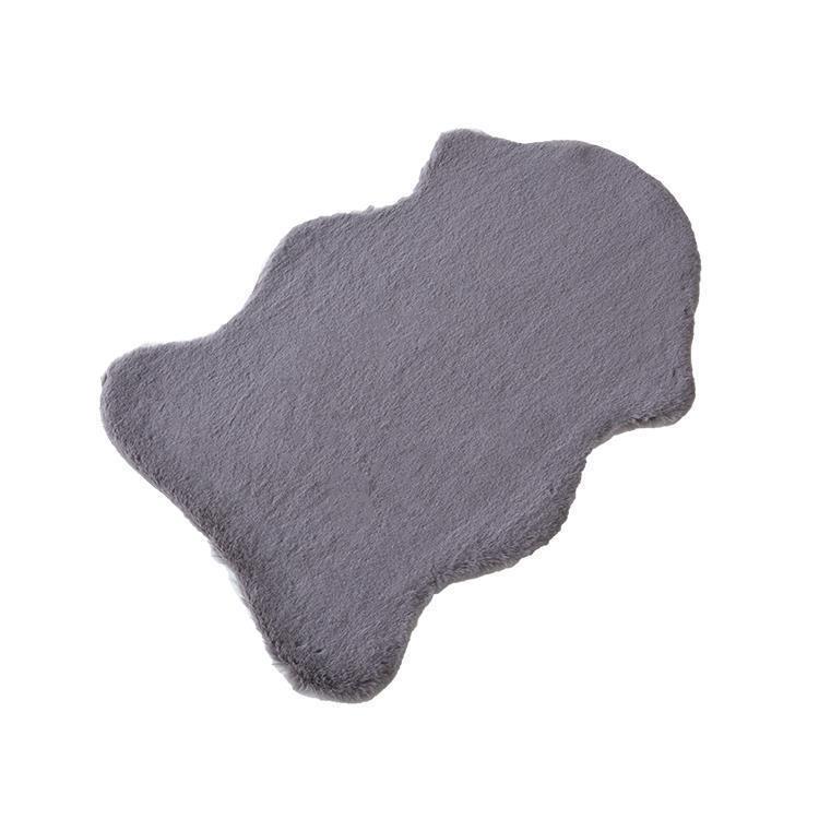 LUPIN ムートンマルチマット  60×90  GY