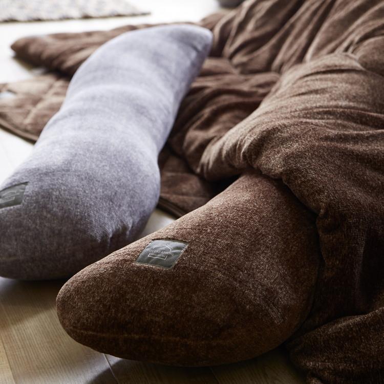 マーブルファー 抱き枕  25×95  BR