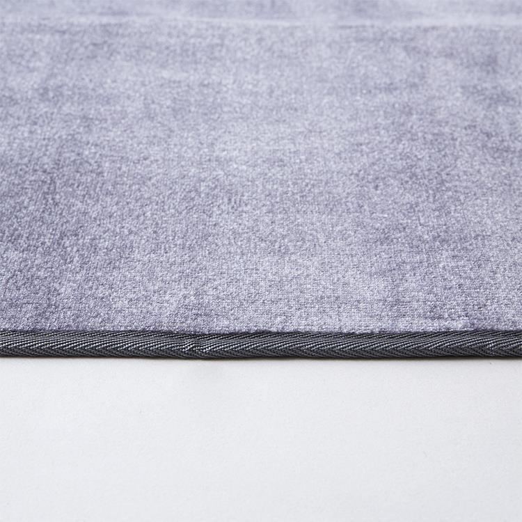 マーブルファー ラグ  185×240  CG
