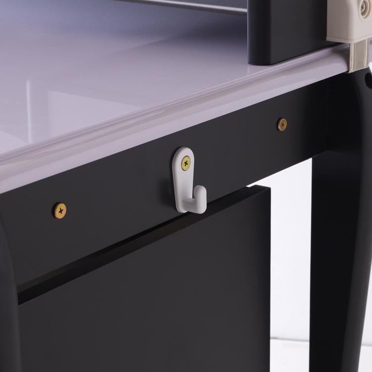 WPR-520   ロー棚デスク   BK/PA