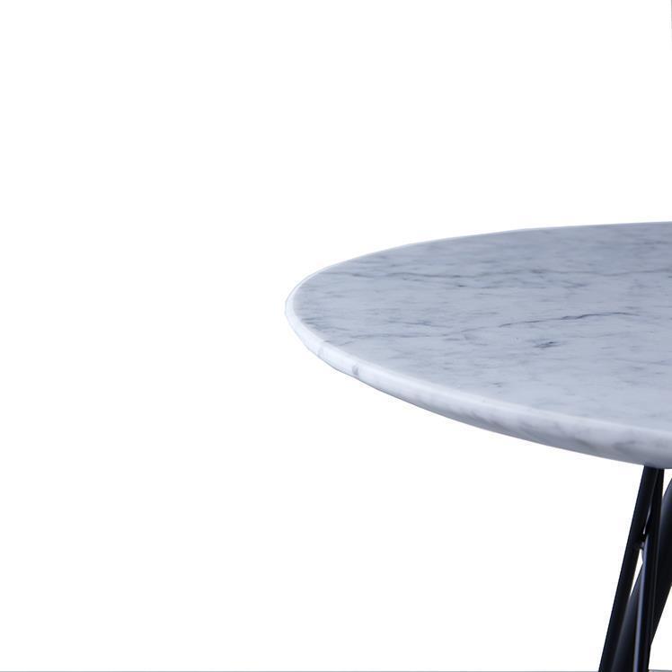 ブリム サイドテーブル WH/BK 50