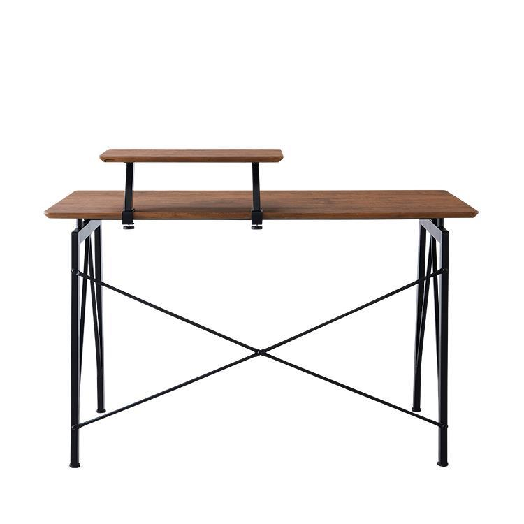 ミニテーブル付きデスク  BR