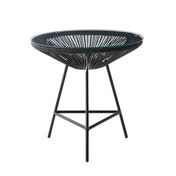 IL56 サイドテーブル  BK