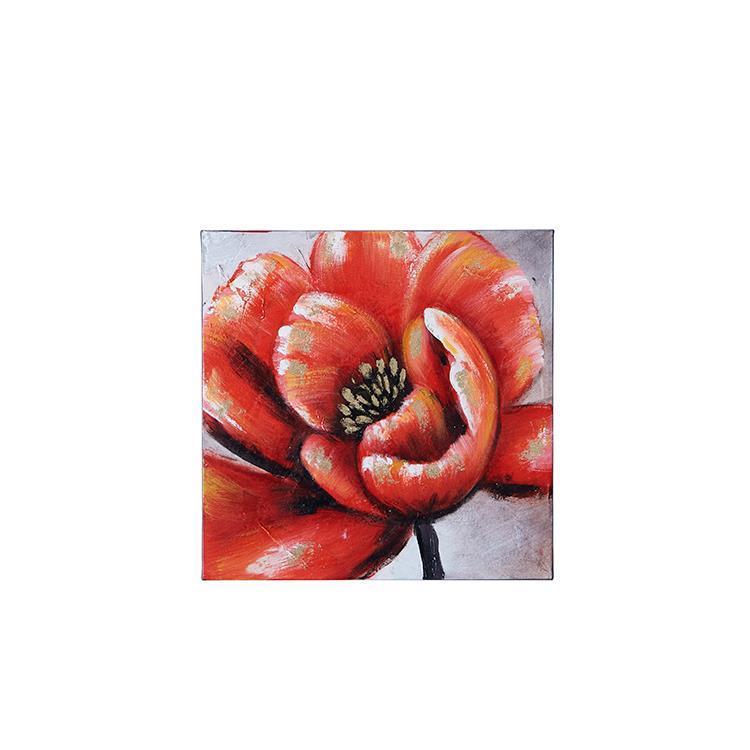 F1591   Flower アート 40×40 RD