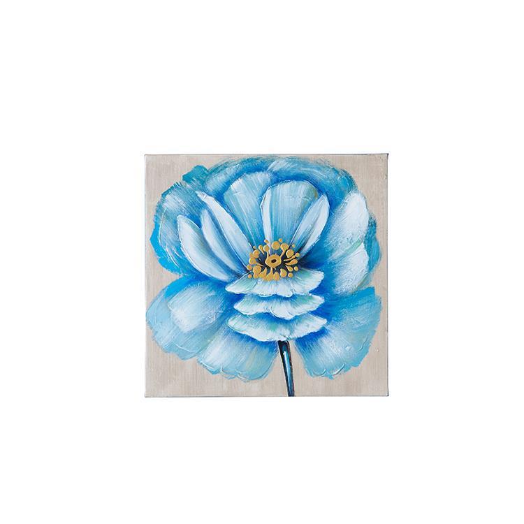 F1841   Flower アート 40×40 BL