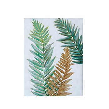 Palm Leaf アート GR/GO 60×80