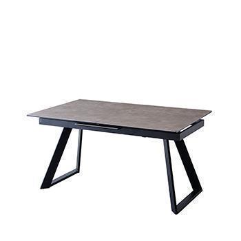【10月中旬お届け予定】シュタイン 伸長式ダイニングテーブル GY T-7615