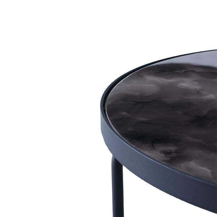 モンロー リビングテーブル 50/H38 BK