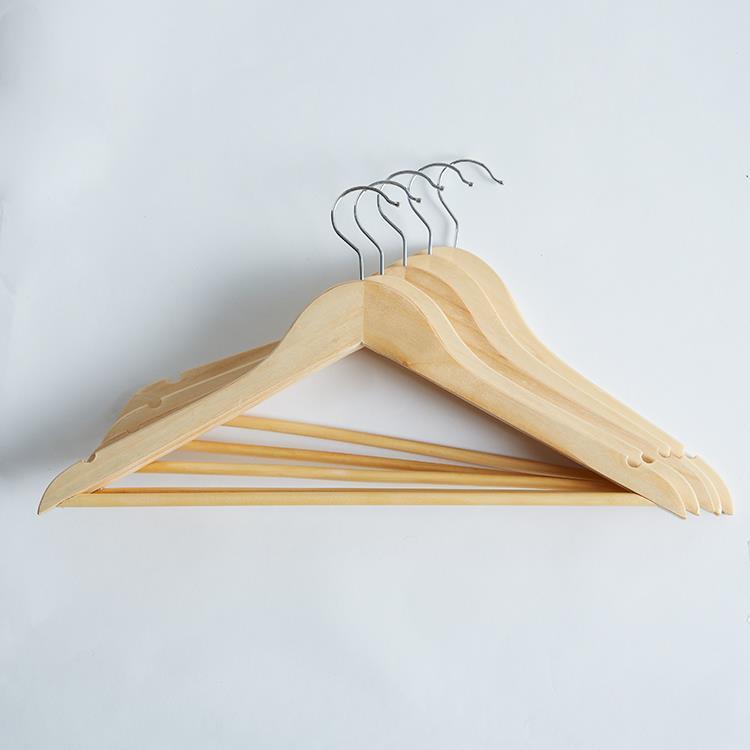 木製ハンガー 5本セット