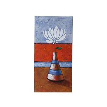 B-Flower アート  WH  30×60