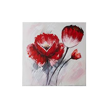 Flower bud アート  RD  80×80