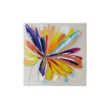 FlowerーL アート  MIX  60×60