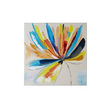 FlowerーR アート  MIX  60×60