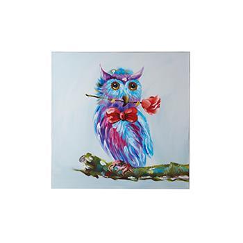 Owl アート   80×80
