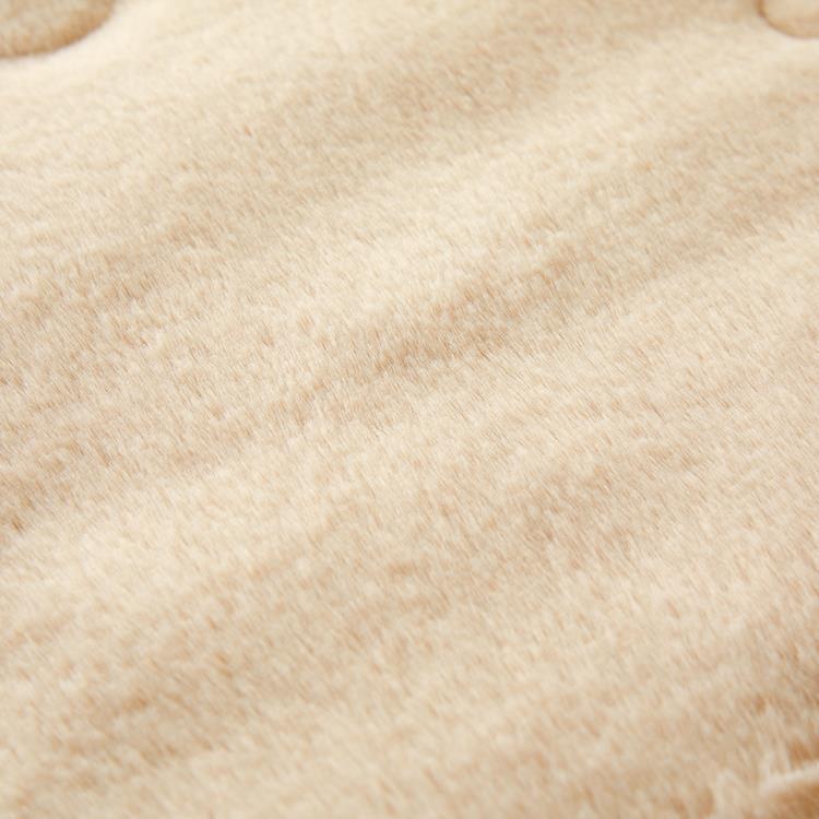 ラビットファー+3.5℃ 敷きパッド  セミダブル TH-112SD BE