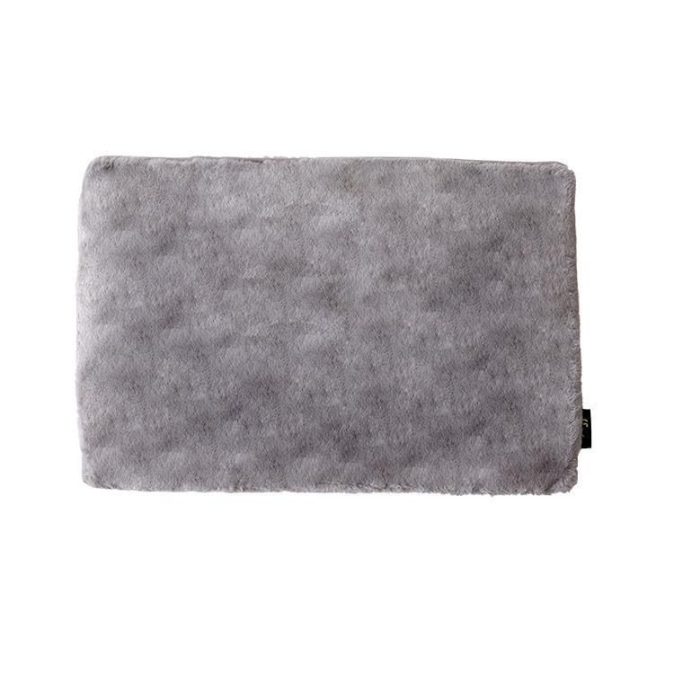 TH-114 ラビットファー+3.5℃ 枕カバー  43×63  GY