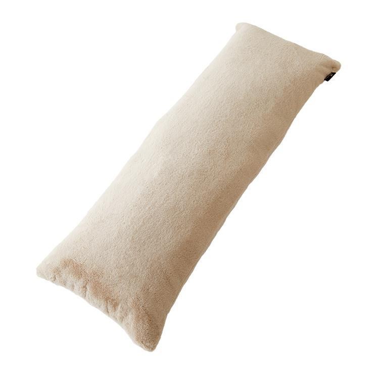ラビットファー+3.5℃ 抱き枕  43×120 TH-115 BE