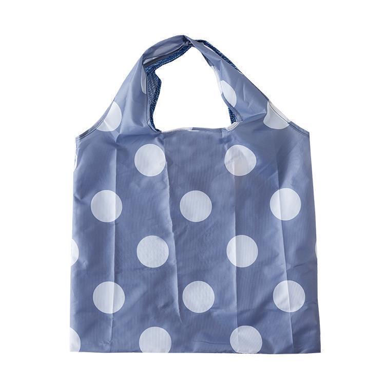IL208  Eco-Bag  Denim/Gドット