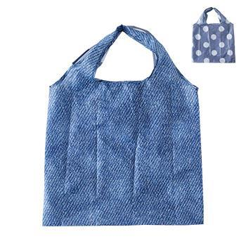 IL208  Eco-Bag  Denim/Gドット