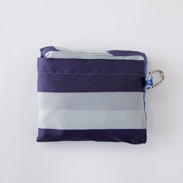 IL209  Eco-Bag  Denim/Nボーダ