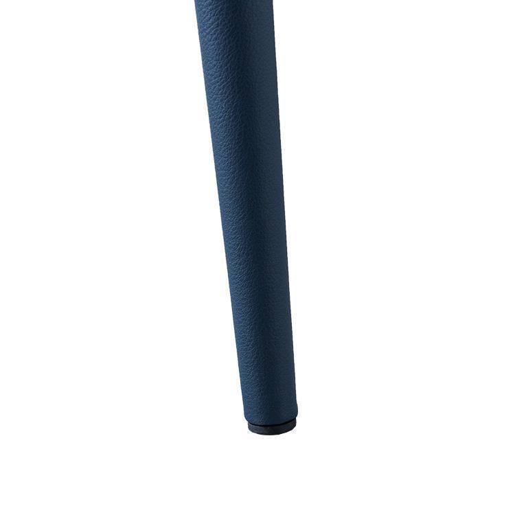 F236G ダイニングチェア(PU)  BL