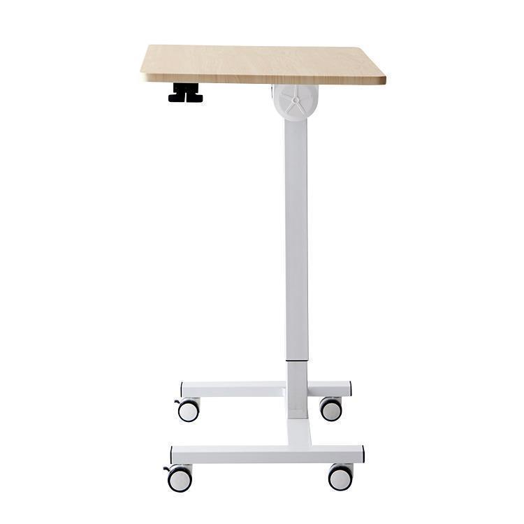 【WEB限定】折りたたみ式 昇降式テーブル HS-DK-001 ナチュラル