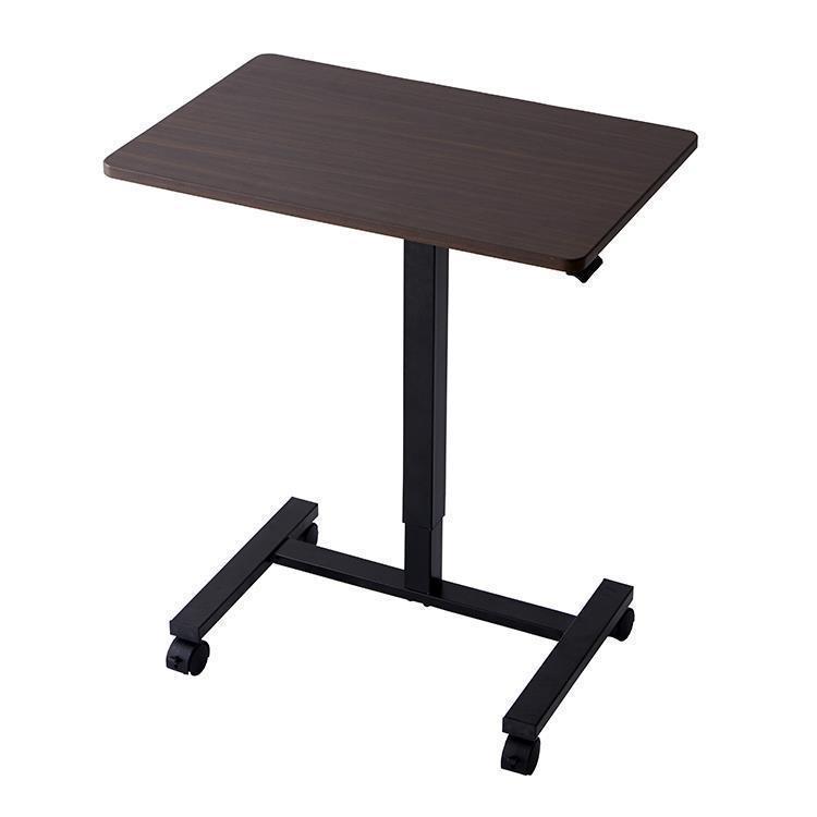 【WEB限定】折りたたみ式 昇降式テーブル HS-DK-001  ブラウン