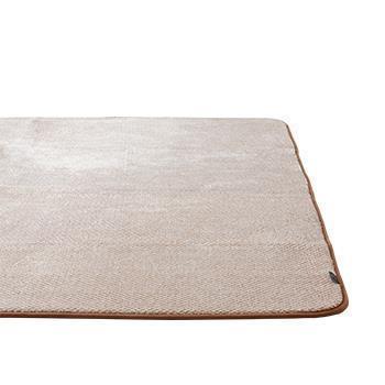 カチオンミックス ラグ 185×185  BR