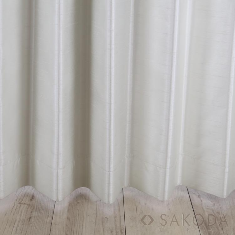 AT HOME AthomeNトゥインクルカーテン2枚組 100X225cm WH