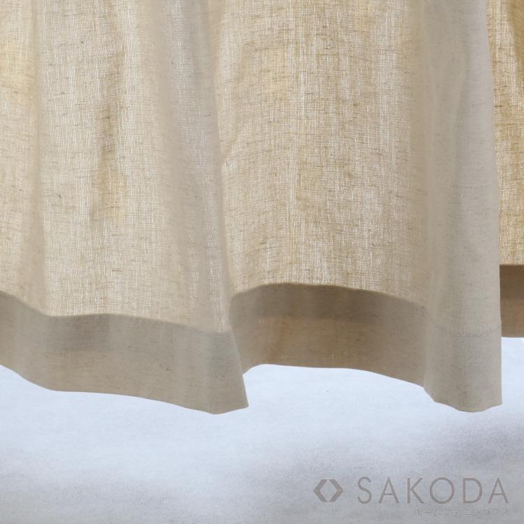 14M14023  小窓カーテン 140X90cm NA