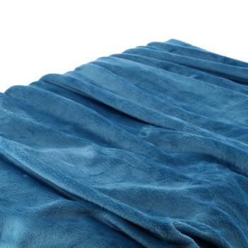 フラッフィー 2枚合わせ毛布 シングル BL