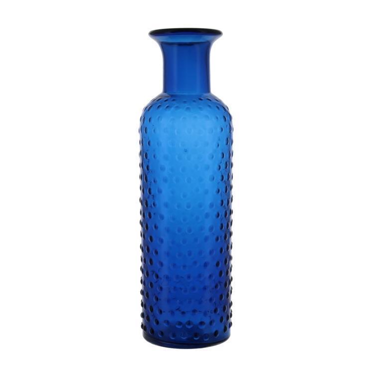 P1414S178  ガラスベース ドットボトル Lサイズ BL