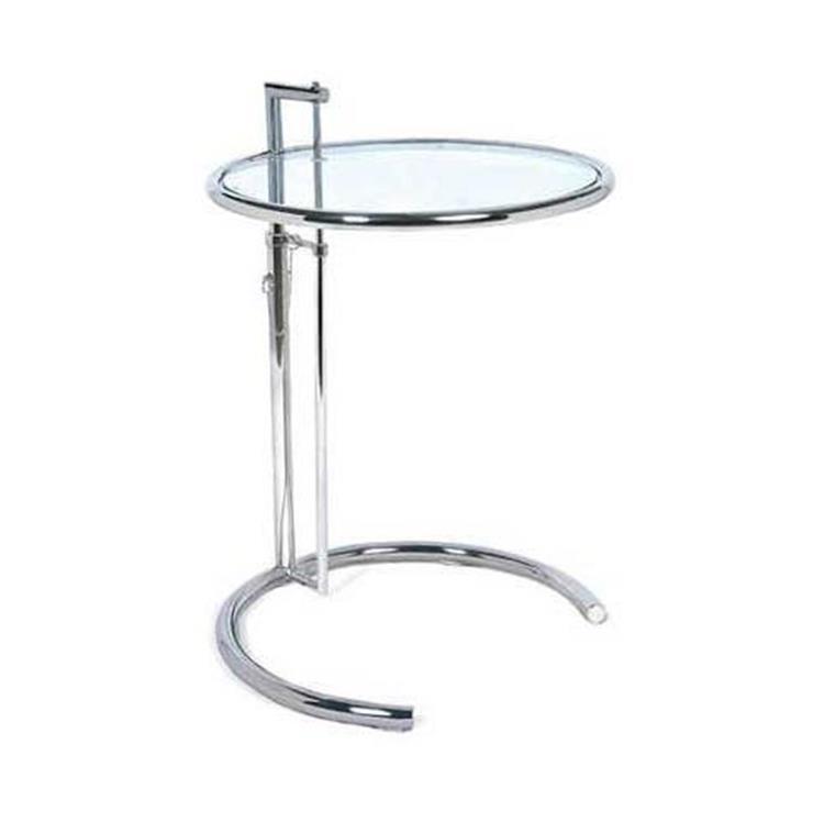 アイリーングレイ「E1027」 (クロームメッキ) サイドテーブル