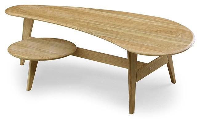 YUZU (Y030:オーク) 130センターテーブル