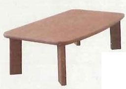 シュエット RF107T(色: ) 120リビングテーブル